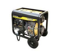 Open Frame Portable diesel welder Set KT6000LEBW